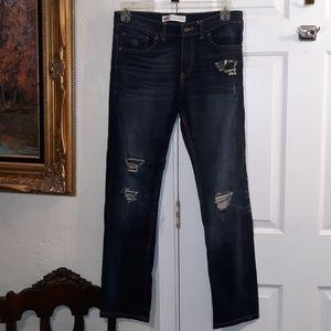 Levi's 511 Men's Slim Distressed Jeans